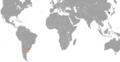 South Korea Uruguay Locator.png