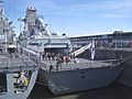 South Korean Navy vessels, Montreal (2013-10-23).jpg