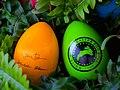 Souvenir eggs of the White House egg roll 2009.jpg
