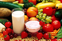 Vegetables, fruit, soy and whey protein