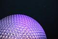 Spaceship Earth at Night (33228215186).jpg