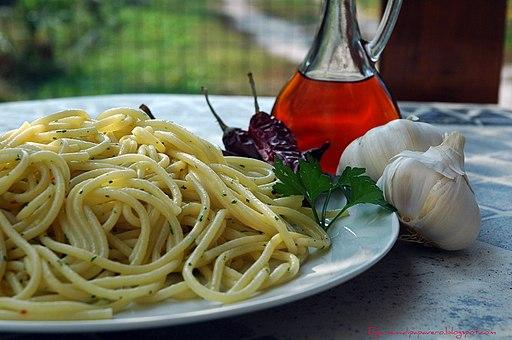 Spaghetti di Gragnano e colatura di alici