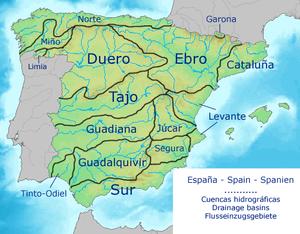 mapa dos rios de espanha Categoria:Rios da Espanha – Wikipédia, a enciclopédia livre mapa dos rios de espanha