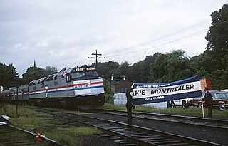 <i>Montrealer</i> (train) Passenger train operated by Amtrak between New York City and Montreal, Canada