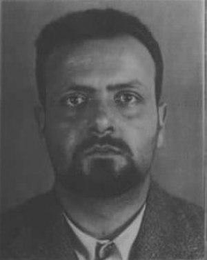 Altiero Spinelli - Spinelli prisoner in Ventotene, 1930s.