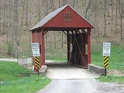 Sprowl's Covered Bridge (1875)National Register of Historic Places