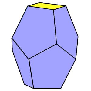 Truncated trapezohedron - Image: Square truncated trapezohedron