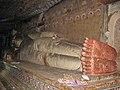 Sri Lanka - 054 - Dambulla reclining Buddha (1631934837).jpg