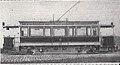 Städtische Straßenbahnen Wien 1903–1913 (page 72 crop) – Umgebauter Drehgestellwagen 1911.jpg