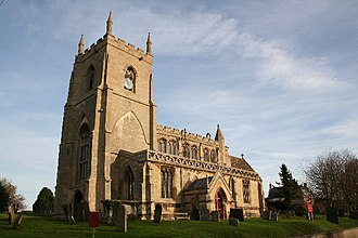 Aslackby and Laughton - Image: St.James' church, Aslackby, Lincs. geograph.org.uk 90690