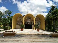 St. Dominic Catholic Church (Entrance).JPG