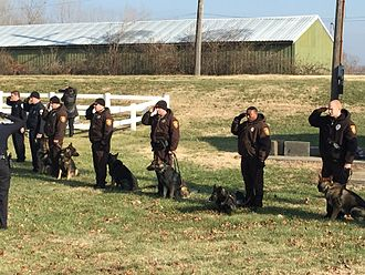 St. Louis County Police Department - Image: St. Louis County Police K9 Unit