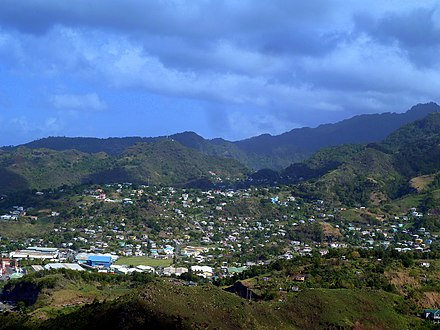 Camden Park, St. Vincent St. Vincent, Karibik - Kingstown - Looking north from Fort Charlotte - panoramio.jpg