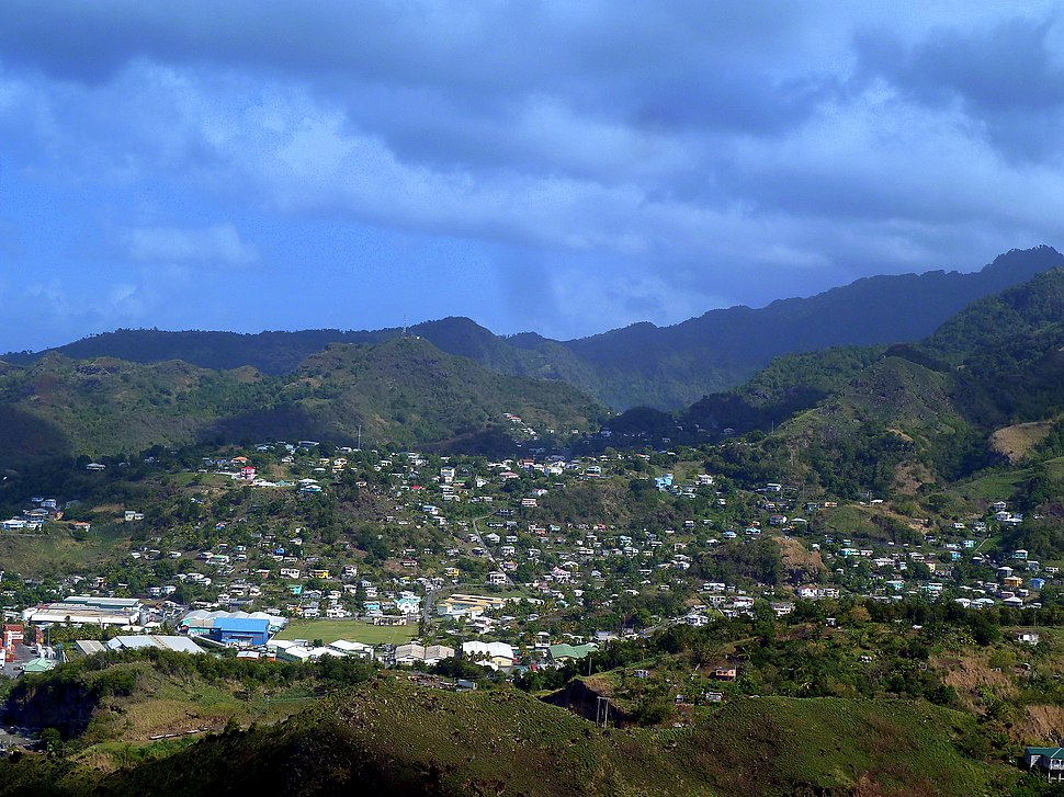 St. Vincent, Karibik - Kingstown - Looking north from Fort Charlotte - panoramio