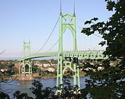 St. Johns Bridge.