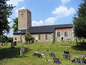 Scole - Image: St Andrew's Church, Scole, Norfolk geograph.org.uk 814523