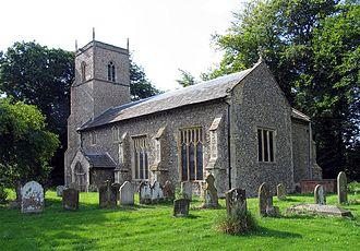 Brinton, Norfolk - Image: St Andrew, Brinton, Norfolk
