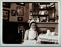 St Bartholomew's Hospital, London; a nurse taking tea. Photo Wellcome V0028941.jpg