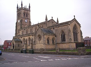 St James Church, Poolstock Church in Greater Manchester, England