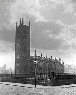 St Johns Church, Manchester