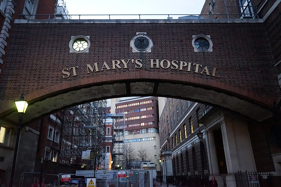 St Mary%27s hospital in london