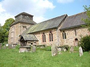 Hopesay - Image: St Mary, Hopesay geograph.org.uk 161638
