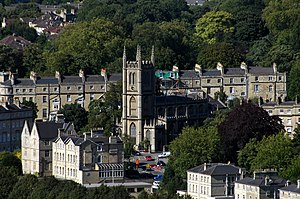 Bathwick - Image: St Mary the Virgin's Church, Bath July 2007