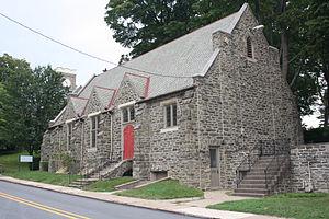 St. Paul's Episcopal Church (Elkins Park, Pennsylvania) - Image: St Paul Episcopal Church, Elkins Park PA 06