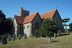 St Peter and St Paul's Church, Brenley Lane, Boughton-under-blean, Kent - geograph.org.uk - 1502153.jpg