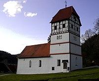 St Peter und Paul Friedhofskirche Nusplingen.JPG