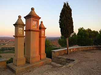 Castelserás - Image: Sta. Bárbara. Castelserás. Teruel. (15003672670)
