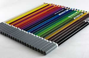 Colored pencil - Colored pencils manufactured by Schwan-Stabilo
