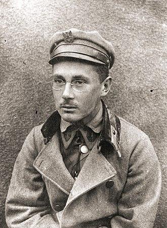 Wacław Stachiewicz - Stachiewicz, 1917