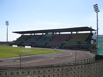 Stadio Tupparello - View of the Main Stand