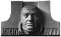 Stadttheater Bremerhaven - Mask of Gleichmut by Roch and Feuerhahn 1909.png