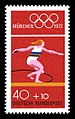 Stamps of Germany (BRD), Olympiade 1972, Ausgabe 1972, Block 2, 40 Pf.jpg