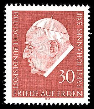 Pacem in terris - German Stamp 1969