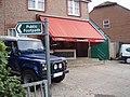 Start of footpath by butcher's shop, Barnham - geograph.org.uk - 598615.jpg