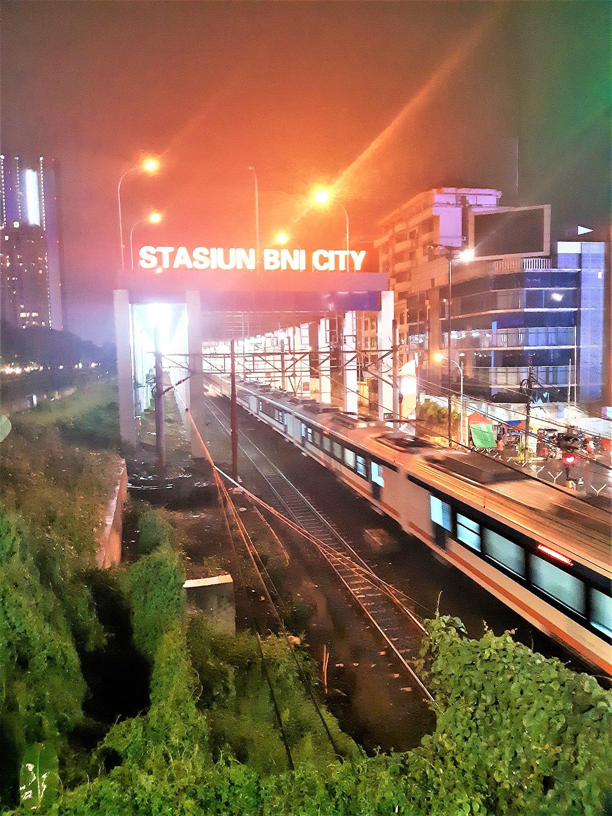 Bni City Railway Station