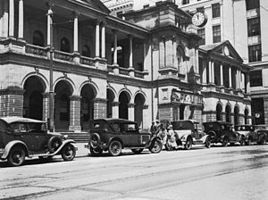 General Post Office, Brisbane - The GPO in 1931