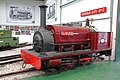 Statfold Barn Railway - locomotive Cloister (geograph 5423376).jpg