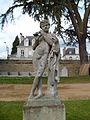 Statue Faune à la flûte (parc du Thabor, Rennes).JPG