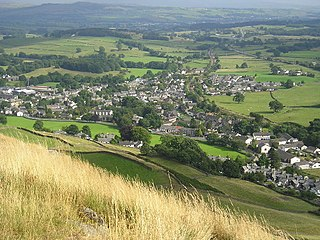 Staveley, Cumbria Human settlement in England