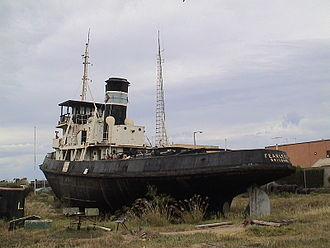 Fearless (tugboat) - Image: Steam tug Fearless
