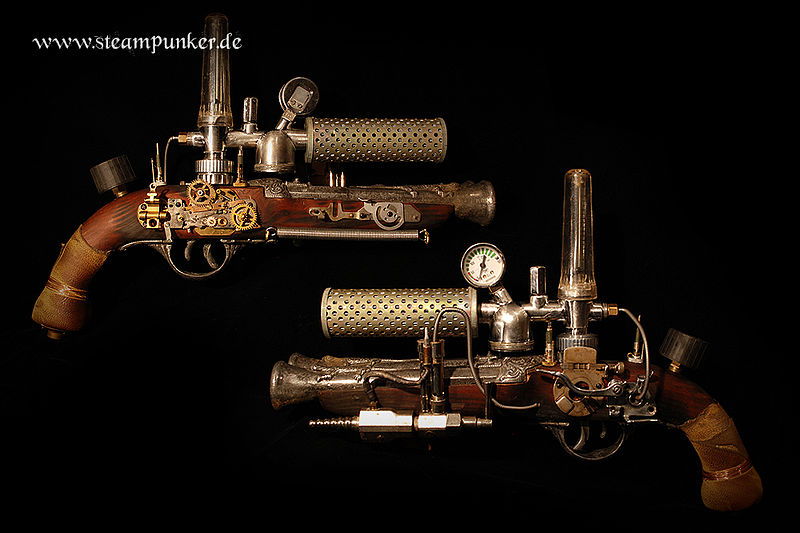 File:Steampunk gun - raygun.jpg