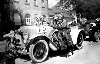 Steiger (automobile company) - Steiger 10/50 PS. Touring car (1922)