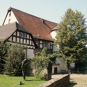 Brothers Grimm - Jacob and Wilhelm Grimm lived in this house in Steinau from 1791 to 1796.