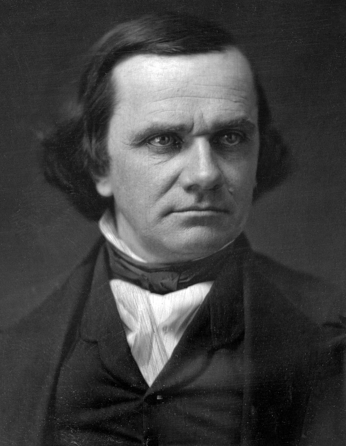 a biography of senator stephen a douglas The highly controversial kansas-nebraska act of 1854 senator stephen a douglas who had known and sparred in illinois with stephen douglas before.