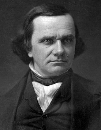 Abraham Lincoln and slavery - Image: Stephen A Douglas headshot