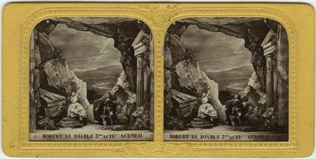 Stereokort, Robert le Diable 6, acte III, scène II - SMV - S108a.tif